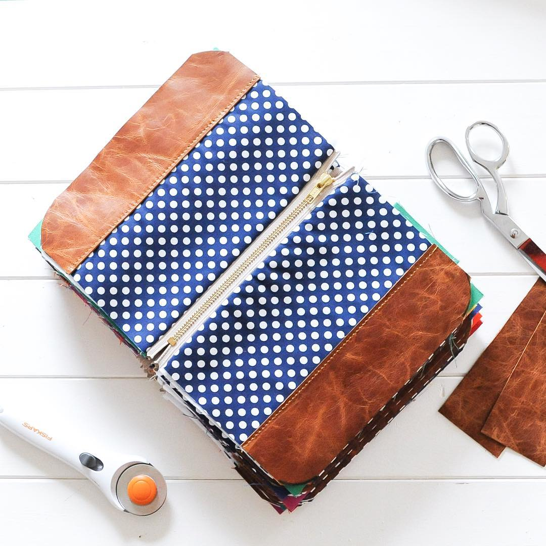 Lucy Jane Handmade Wristlet Leather
